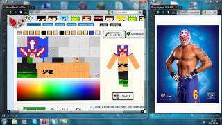 Official Minecraft 1.9 Rey Mysterio Skin