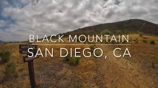 Hiking Black Mountain, San Diego
