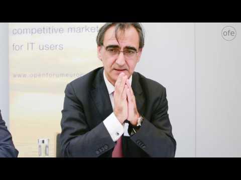 Thomas Skordas - European Cloud Initiative Round Table by OpenForum Europe