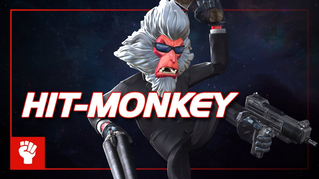 Hit-Monkey Special Moves | Marvel Contest of Champions