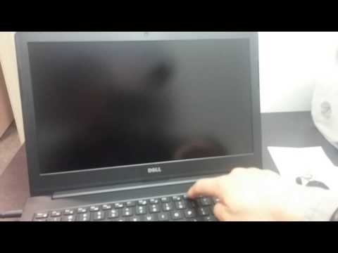 How to enter Bios Cmos setting and change boot sequence order on Dell Latitude 3550 laptop