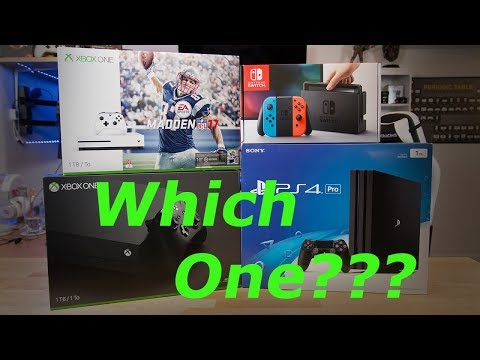 What Console Should You Buy? - March 2018