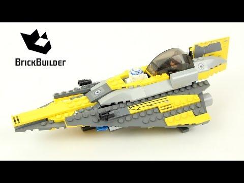 Lego Star Wars 7669 Anakin's Jedi Starfighter - Lego Speed Build