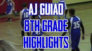 (LIGHT REPS) AJ's 8th Grade Skyview Highlights