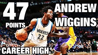 Andrew Wiggins Scores Career High 47 Points At Home
