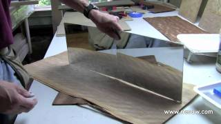Creating a Bookmatched Veneer Panel - Part 1