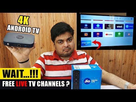 सबसे सस्ता Jio 4K Set Top Box With Free Live Channels? | WAIT...!!!