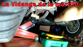 [TUTO] Comment vidanger huile moteur | DIY [PORSCHE 924S]
