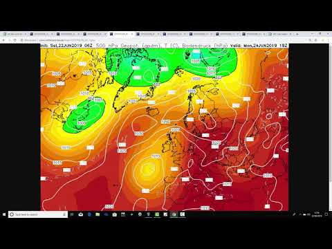 Weather Forecast For The Week Ahead: 22nd To 30th June 2019
