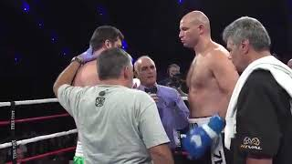 Победа казахстанца Ивана Дычко над экс-претендентом на титул WBA