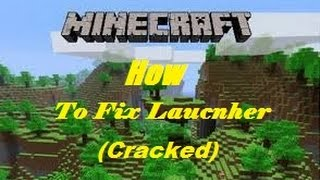 How to Fix Crash in Minecraft (Cracked) Launcher!!!