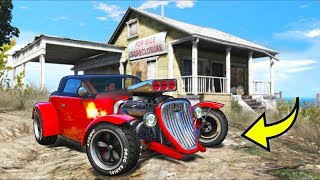 I found this ABANDONED classic car and took it home!! (GTA 5 Mods Gameplay)