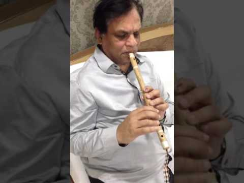 VN DHOOT FLUTE PLAYING