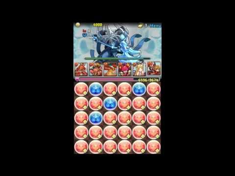 Ragnarok Odyssey ACE Collab - Master | Mono Fire Atker team (Puzzle and Dragons)
