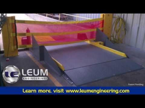 Hydraulic Top Of Dock Leveler by Leum Engineering, Inc.