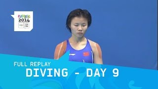 Diving - Day 9 Women's 3m springboard Final | Full Replay | Nanjing 2014 Youth Olympic Games