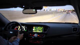 KIA CADENZA K7 Test Drive on local road and Fwy