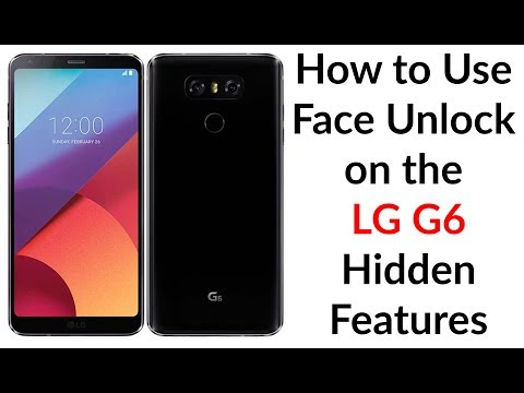 How to Use Face Unlock on the LG G6 Hidden Features - YouTube Tech Guy