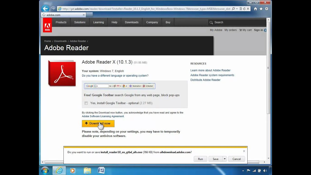 adobe reader 9.1 free download with crack