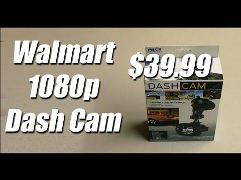 Walmart 1080p Video Dash Cam $39.99 By Pilot