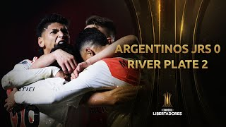 Argentinos Jrs vs. River Plate [0-2]   RESUMEN   Octavos de Final   Vuelta   CONMEBOL Libertadores