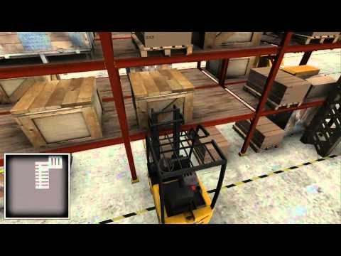 Warehouse and Logistics Simulator: Giant Bomb Quick Look