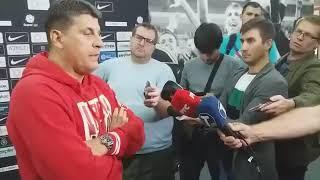 Vladan Milojević posle poraza u