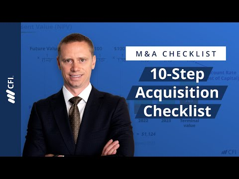 Learn About All the Steps in an M&A Deal | Corporate Finance Institute