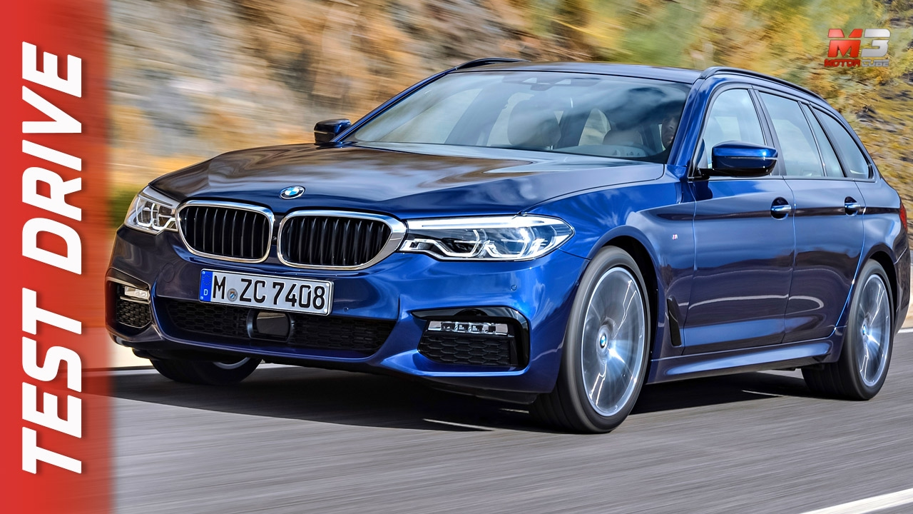 new bmw 530d xdrive touring 2017 first test drive youtube. Black Bedroom Furniture Sets. Home Design Ideas