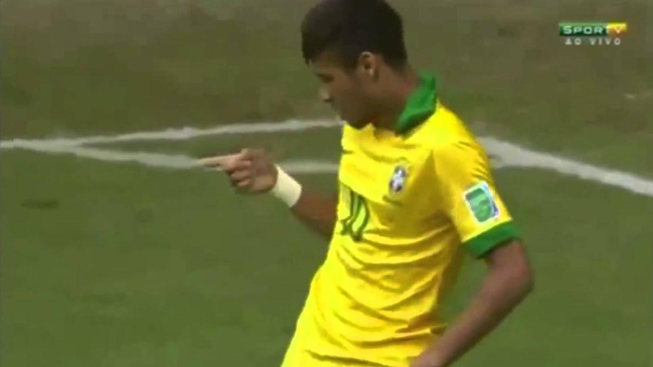 Neymar Dance Against Japan Brazil  Japan