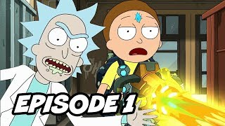 Rick and Morty Season 4 Episode 1 - TOP 10 WTF and Easter Eggs