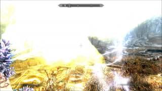 Skyrimの格好いい魔法ベスト4v(。・ω・。)♪ thumbnail