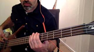 Mag Runs The Voodoo Down   Nils Landgren   Bass cover