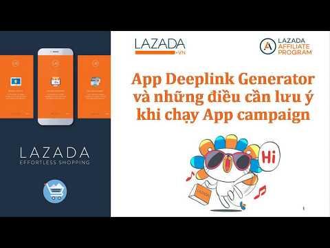 App Deeplink Generator Và Những điều Lưu ý Khi Chạy App Campaign (with English Subtitle)