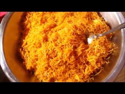 recette dwida mfawra bedjej / دويدة مفورة بالدجاج / cheveux d'ange à la vapeur