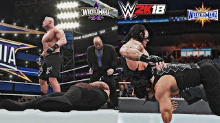 2 Superstars Who Defeated The Undertaker at Wrestlemania! (WWE 2K18: The 2 in 24-2) - WM 30 & WM 33
