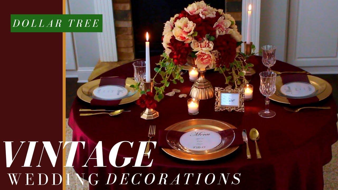 Vintage Wedding Ideas Fall Wedding Decorations Ideas
