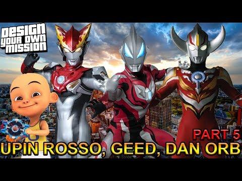 download UPIN ROSSO, GEED, ORB MELAWAN PARA MONSTER !!! (PART 5) - GTA ULTRAMAN INDONESIA