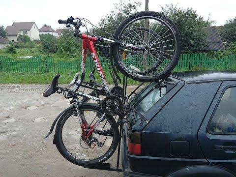 как сделать багажник для перевозки велосипеда своими руками