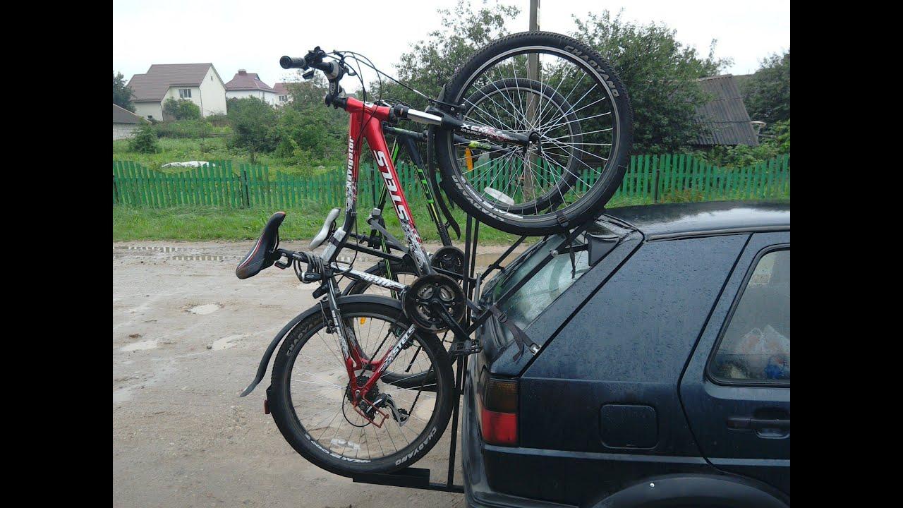 Как сделать багажник на велосипед фото 191