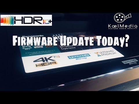 PANASONIC UB420 HDR10+ FW UPDATE ++
