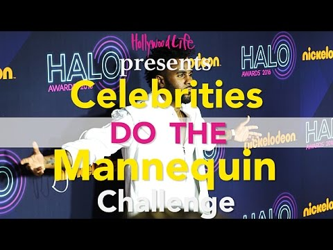 The Mannequin Challenge - Celebrity Edition -...