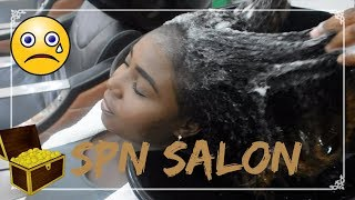 I TRIED SPN SALON. WHY DID I LET SOMEONE ELSE TOUCH MY NATURAL HAIR???
