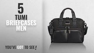 Top 10 Tumi Briefcases Men [2018]: Tumi Men's Alpha Bravo Albany Slim Commuter Brief, Black