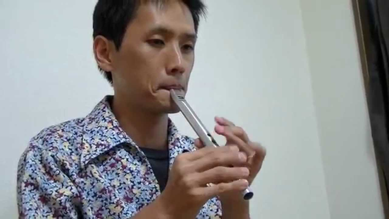 Chieftain Tin whistle D - チーフテン ティン・ホイッスル D管 - YouTube
