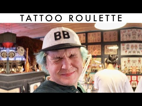 TATTOO ROULETTE AT LIBERTY TATTOO SEATTLE. (TRUST TATTOO)