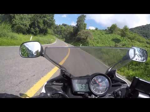 Yamaha R15 en Sierra Gorda de Querétaro (Día 1)