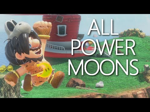 Cascade Kingdom: All Power Moons Guide - Mario Odyssey