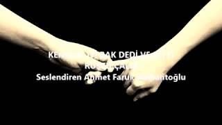 Kendine iyi bak şiiri - Rüştü Çalık - Ahmet Faruk Nalbantoğlu