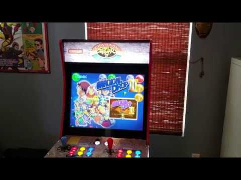 Arcade1Up Mod: 20 LCD replacement and lit Marquee